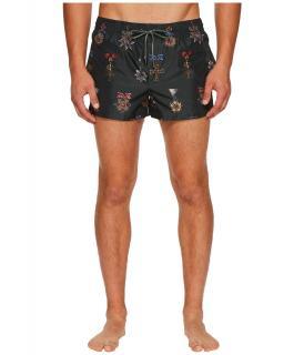 Dolce & Gabbana 'Heraldic Sicilia' Print Swim Shorts