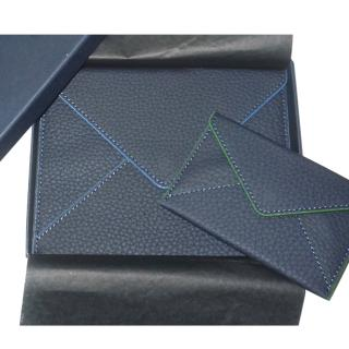 Piaget set-of-two leather card, passport & document holder