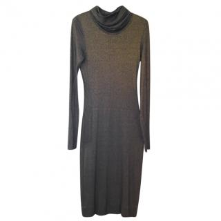 Diane von Furstenberg cowl-neck dress