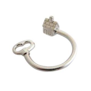 Tiffany & Co. House & Key Keyring