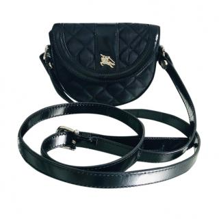 Burberry Mini Quilted Cross-Body Bag