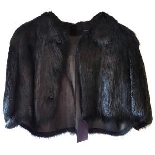Prada Bolero Fur Jacket