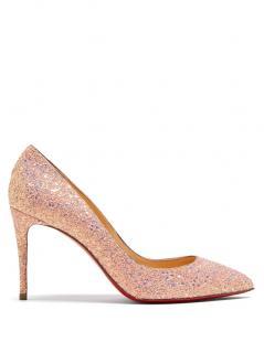 7a280c01b6b Christian Louboutin Pigalle Follies 85 glitter embellished pumps