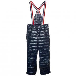 MONCLER Men's Salopettes Ski Trousers