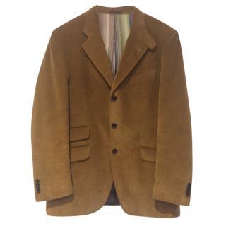 Etro Milano Men's Corduroy 3 Button Blazer Size 52