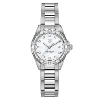 Tag Heuer Ladies' Aquaracer Diamond Dial and Bezel 27 mm Watch