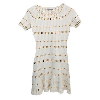 Sandro Short-Sleeved Dress