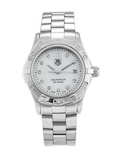 Tag Heuer Ladies Aquaracer Diamond WAF1415 Watch
