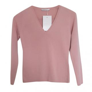 MaxMara pink wool sweater