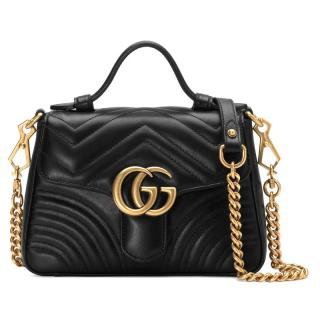 Gucci Marmont Mini matelasse leather bag