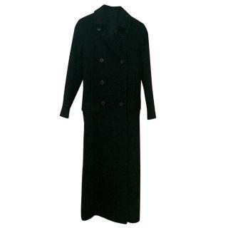 Theory Long Black Coat