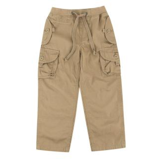 Polo by Ralph Lauren Boys Brown Trousers