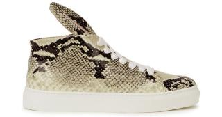 Minna Parikka Bunny Rabbit Python High-Top Trainers