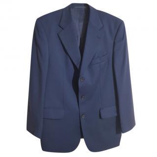 Valentino Men's Navy Blazer Suit