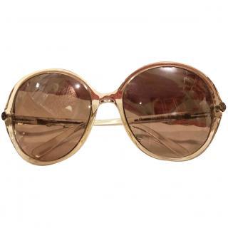 Celine transparent oversized sunglasses