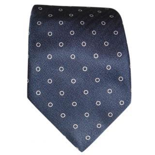 Gieves & Hawkes circle-jacquard silk tie