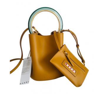 Marni Pannier leather bag