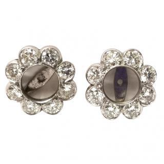Bespoke 18ct Gold 2.40ct Diamond Ear Jackets