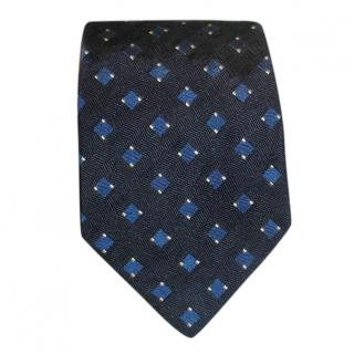 Ralph Lauren Purple Label navy silk tie