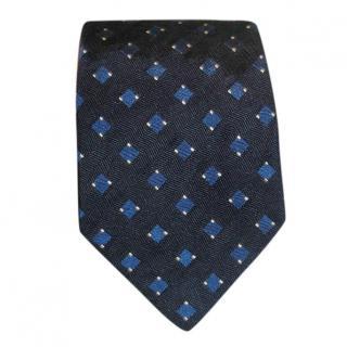 Ralph Lauren Purple Label navy silk tie