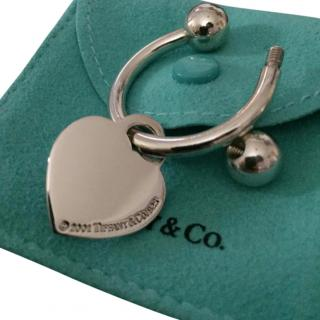 Tiffany & Co. Heart Keyring