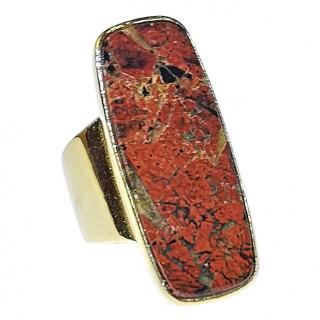 Wouters & Hendrix Moss Agate Ring