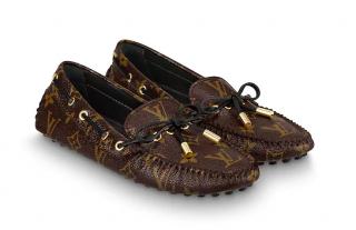 Louis Vuitton monogram loafers