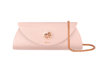 Chopard Happy leather clutch bag