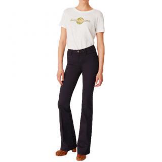 M.I.H Marrakesh Black Kick-Flare Jeans