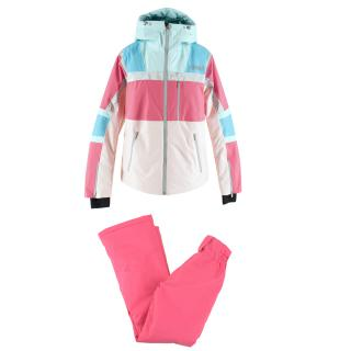 Colmar Neon Pink Ski Jacket & Trousers Set
