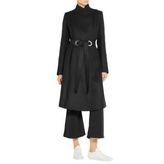 Proenza Schouler Belted Wool Blend Coat