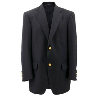 Brooks Brothers Navy Wool Blazer