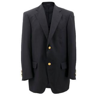 Brooks Brothers Navy Wool Blazer