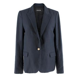 Zadig & Voltaire Navy Deluxe Blazer