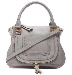 Chloe Small Marcie double carry bag in small grain calfskin