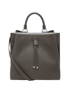 Mulberry Kensington mole-grey leather bag