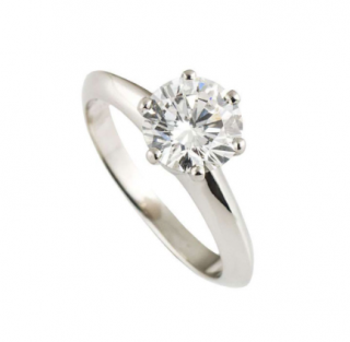 Tiffany & Co 1.16ct diamond Solitaire Engagement Ring