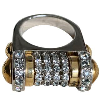 Louis Vuitton All That Jazz Cocktail Ring