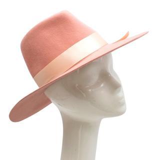 Memoria Hats Pink Wide Brimmed Hat