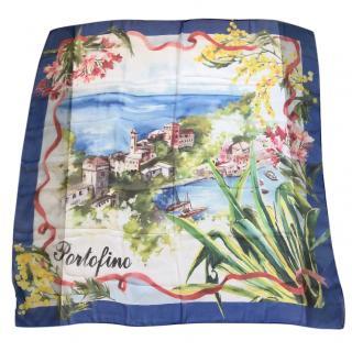 44057148a1 Dolce & Gabbana Portofino silk scarf