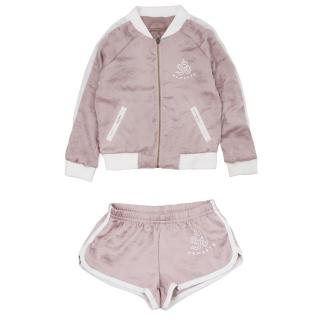 Spiritual Gangster Girls Good Vibes Only Satin Set