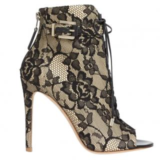 Brian Atwood lace ankle boots