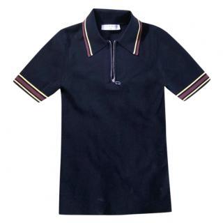 Sandro knit polo shirt