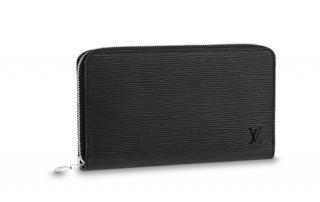 Louis Vuitton Epi Noir Zippy Organizer Wallet