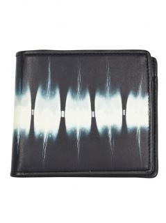 Issey Miyake abstract-print leather bi-fold wallet