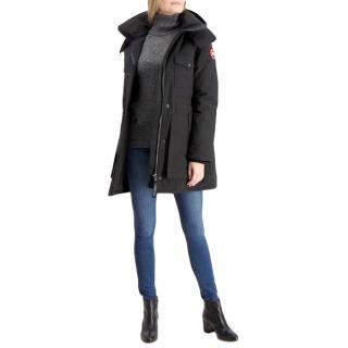 Canada Goose Gabriola Black Parka Jacket