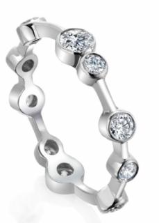 Boodles Raindance diamond encrusted full hoop ring