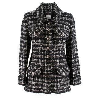 Chanel Black & White Classic Tweed Jacket