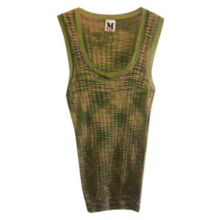 Missoni green tank top