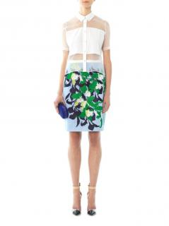 Peter Pilotto Lea embroidered pencil skirt